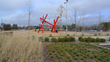 Ulalu by Mark di Suvero is one of two sculptures by the renowned artist recently installed at the North Carolina Museum of Art's new Civitas-designed Ann and Jim Goodnight Museum Park (photo courtesy
