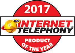 Dash from VirtualPBX wins the 2017 Internet Telephony Product of the Year Award