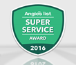 Sir Grout of Houston Is Proud to Receive the Distinguished Angie's List Super Service Award