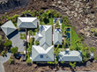 Aerial view of the Kukio home.
