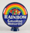 Rainbow Gasoline Motor Oil Single Globe Lens, Estimated at $15,000-30,000.