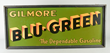 Gilmore Blu-Green Masonite Sign, Estimated at $5,000-7,500.