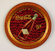 1903 Coca-Cola Bottle 5 Cent Tip Tray, Estimated at $15,000-25,000.