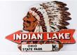 Indian Lake, Ohio Diecut Sign, Estimated at $6,000-12,000.