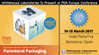 Whitehouse Laboratories to Co-Present with Novo Nordisk at PDA Parenteral Packaging Conference