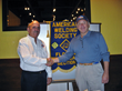 Uniweld Regional Sales Manager, Thomas McCormack with AWS West Florida Section Chairman, Al Sedory