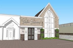 award-winning chapel of the flowers set to re-open glass gardens