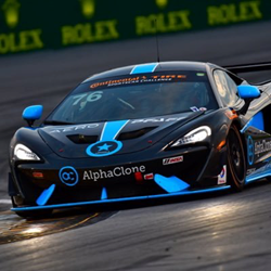 AlphaClone is proud to sponsor the C360R Team in the AlphaClone McLaren 570S GT4 competing in the Continental Tire SportsCar Challenge.