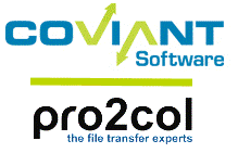 Coviant and Pro2col logos