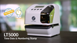 Lathem Launches LT5000, First and Only Electronic Document Stamp with Single Insertion Two-Line Patented Printing