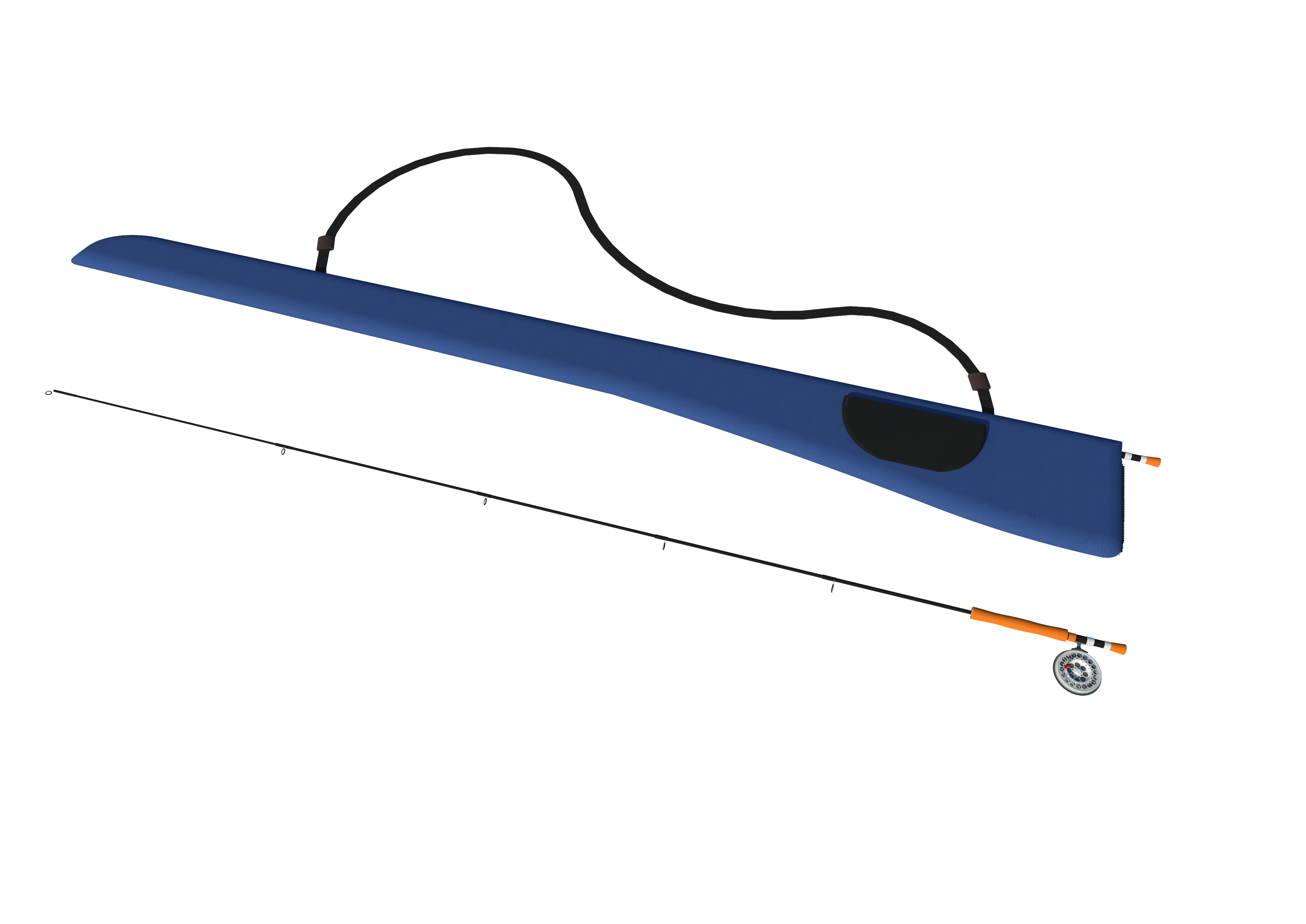 World patent marketing invention team introduces the rod for Fishing rod socks