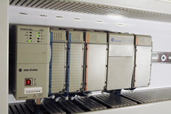 Spiroflow Automation often utilizes Allen-Bradley PLCs.