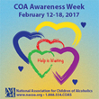 NACoA Announces COA Awareness Week 2017: February 12- 18th