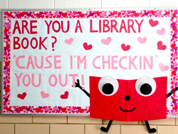 Valentine's Day Bulletin Board by Worthington Direct