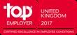 Top Employer Institute Award