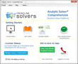 Frontline Systems Releases Analytic Solver® V2017 Desktop and Cloud Tools for Advanced Analytics