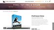 FCPX Effects Developer Pixel Film Studios Released ProFreeze Clone