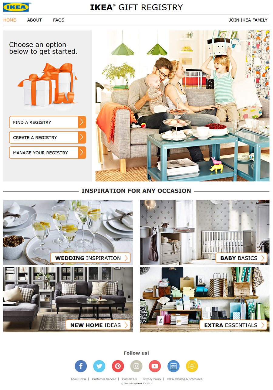 Wedding Gift List Ikea : IKEA U.S. Launches a New Gift Registry to Help Shoppers Celebrate ...