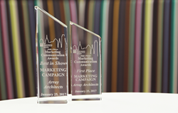 Best in Show Marketing Campaign and First Place Marketing Campaign Awards