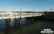 York Bridge Concepts™ (YBC) Timber Pedestrian Bridge Installed at Hingham Harbor in Massachusetts for Future Enjoyment of Residents & Visitors