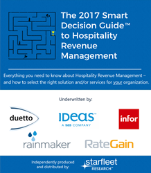 Image result for The 2017 Smart Decision Guide to Hospitality Revenue Management