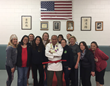 Coach Cahill with some of his admirers and followers at the 9th Degree Promoted at Cahill's Judo Academy
