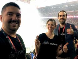 The Reach Engine team at Super Bowl LI