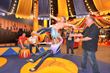 Test your acrobatic skills on the lyra rings in Circus Starring YOU