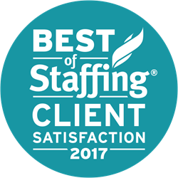 Best of Staffing Client Award Onyx MD
