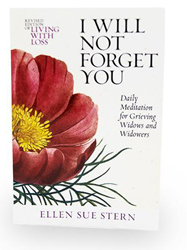 Cover of grief support book: I Will Not Forget You.