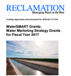 New WaterSMART Water Marketing Strategy Funding Opportunity Available from Bureau of Reclamation