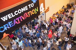 Positive Buzz, Energy Abound at Creativation