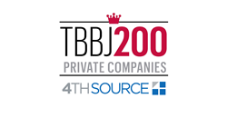 4th Source, an IT services company, made the TBBJ 2016 list of Top 200 private companies