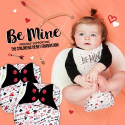 Be Mine Cloth Diaper Design