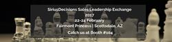 SiriusDecisions Sales Leadership Exchange 2017