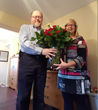 Congratulations to Karl Wabrowetz of BTM Company on Winning Two Dozen Roses in SelfLube's Customer Appreciation Valentine's Give-A-Way
