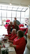 Aeroflow Healthcare Employees Join Local Seniors for Game of Bingo