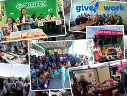 Qualfon 2016 Give@Work Efforts