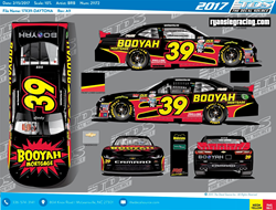 Booyah Mortgage and Rss Racing Car #39