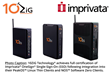 10ZiG Achieves Imprivata OneSign Certification on Linux Based Thin and Zero Clients for Healthcare