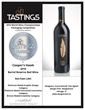 "Cooper's Hawk 2016 Barrel Reserve Red Wine designed by DesignScout recieved ""Best Paper Label"" in Tastings.com 2016 World Wine Championships Packaging Competition"