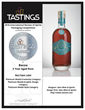 Bacco 5 Year Aged Rum's paper label won a Platinum medal in Tastings.com's 2016 International Review of Spirits Packaging Competition