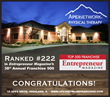 ApexNetwork Physical Therapy Ranked Among the Franchise Elite in Entrepreneur's Esteemed 38th Annual Franchise 500®
