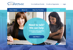 """We wanted this new website to be helpful for people seeking care and give them hope that receiving behavioral health care doesn't have to be a stressful ordeal every time they meet with their provider. It can be as easy as a Skype call and as private as"