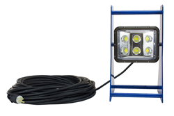 Color Changing LED Work Light on Portable Aluminum Frame