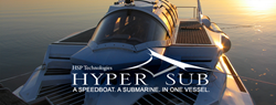 The Hyper-Sub. A Speedboat. A Submarine. In One Vessel.