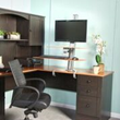HealthPostures Showcases Sit Stand Desk for Home Office at Minneapolis Home and Garden Show