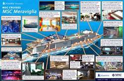 Preview the Upcoming MSC Meraviglia cruise ship with The Cruise Web's Newest Infographic
