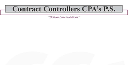 Contract Controllers CPAs, P.S.