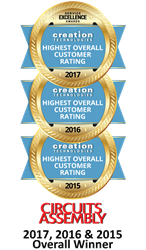 Creation Technologies Wins Highest Overall EMS Award for Third Year in a Row